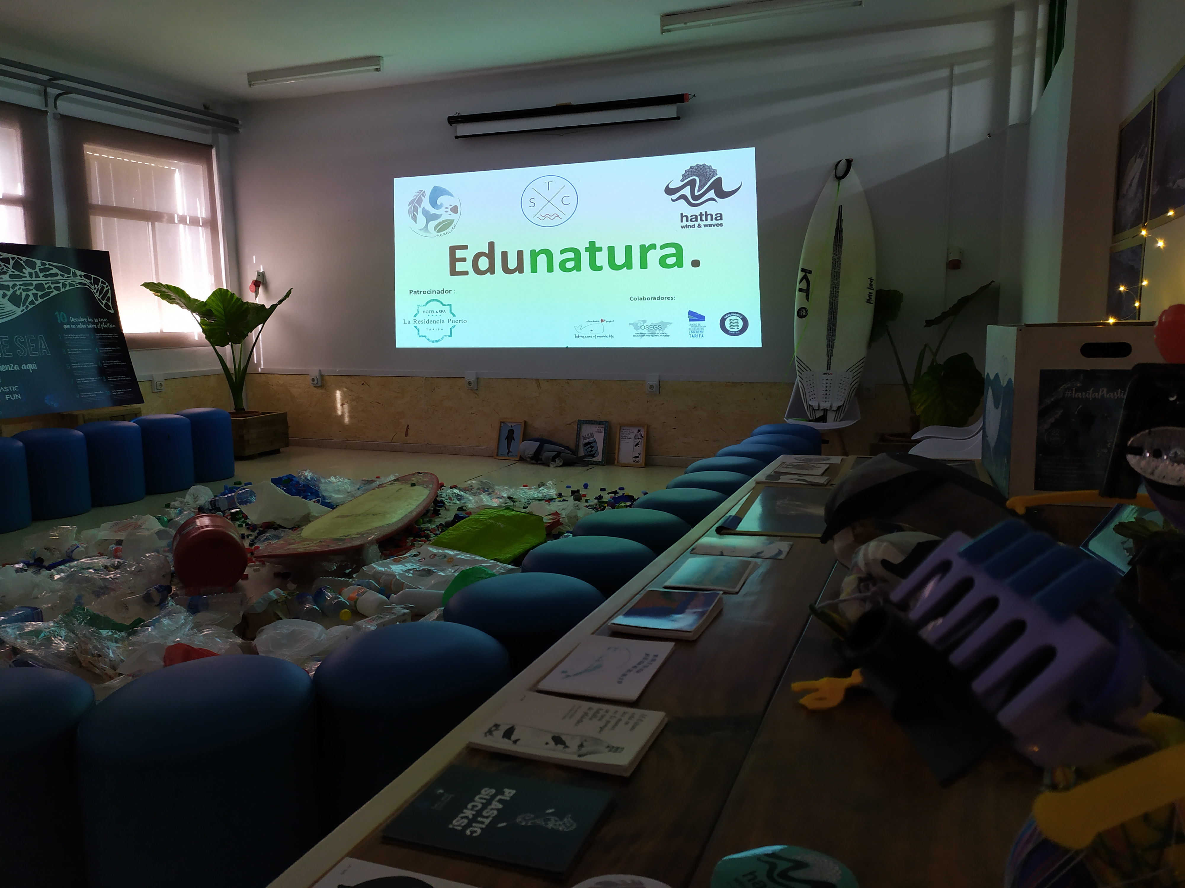 Taller EDUNATURA con Asociación Nereide y Hatha Wind and Waves